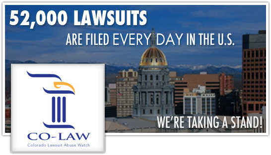 Colorado Lawsuit Abuse Watch (CO-LAW)